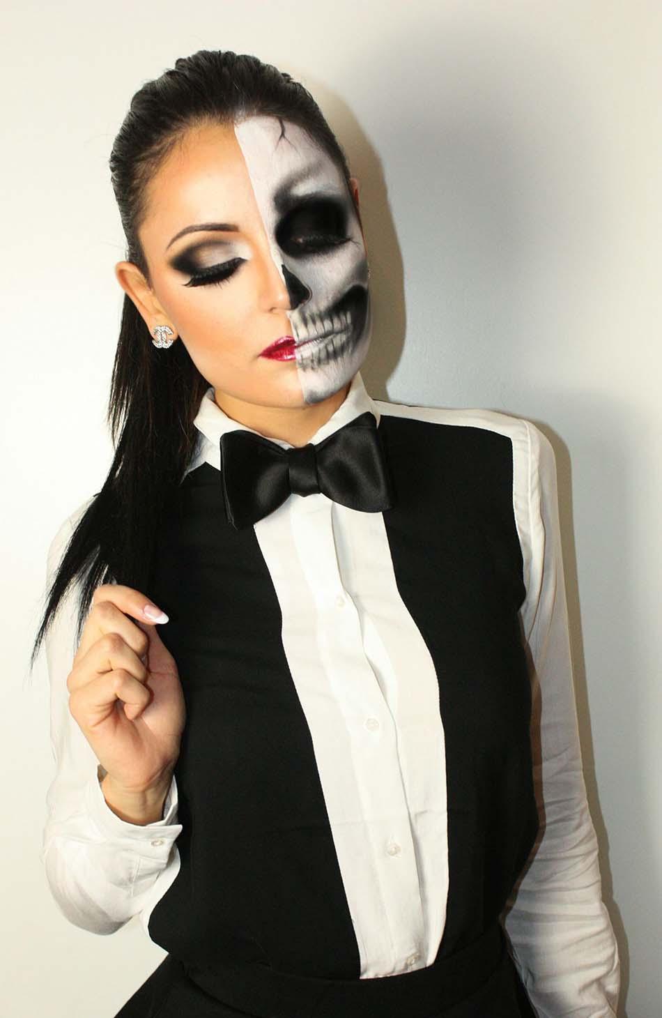 Maquillage halloween homme, la bonne technique pour faire peur